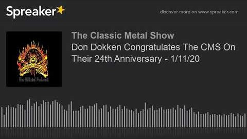 DON DOKKEN Says His Recent Spine Surgery Left Him Unable To Play Guitar