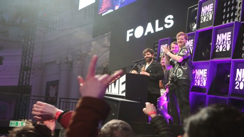 "Foals are already considering their next album: ""It sounds like Jean Michel Jarre and Led Zeppelin's sexy baby"""