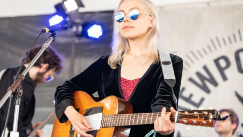 "Phoebe Bridgers shares update on new album, says some of it feels ""weirdly like a sequel"""