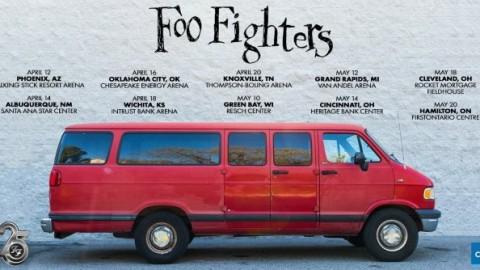 FOO FIGHTERS Announce 2020 'Van Tour'