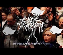 CATTLE DECAPITATION's 'Bring Back The Plague' Music Video Includes Toilet Paper, Self-Isolation And Hand Sanitizers