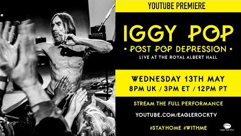 Watch Iggy Pop's legendary 2016 Royal Albert Hall show – being streamed right now