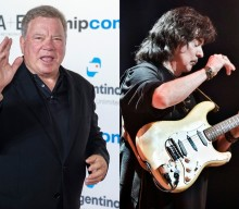 William Shatner covers 'The Thrill Is Gone' with Deep Purple's Ritchie Blackmore