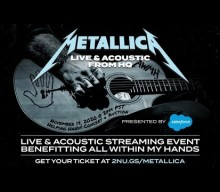METALLICA's 'Helping Hands Concert & Auction' Raises More Than $1.3 Million