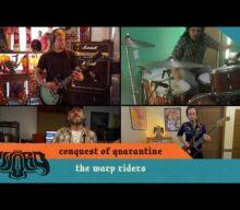 Watch THE SWORD Perform Quarantine Version Of 'The Warp Riders'