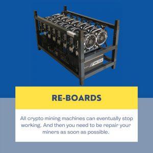 re-board miner repair