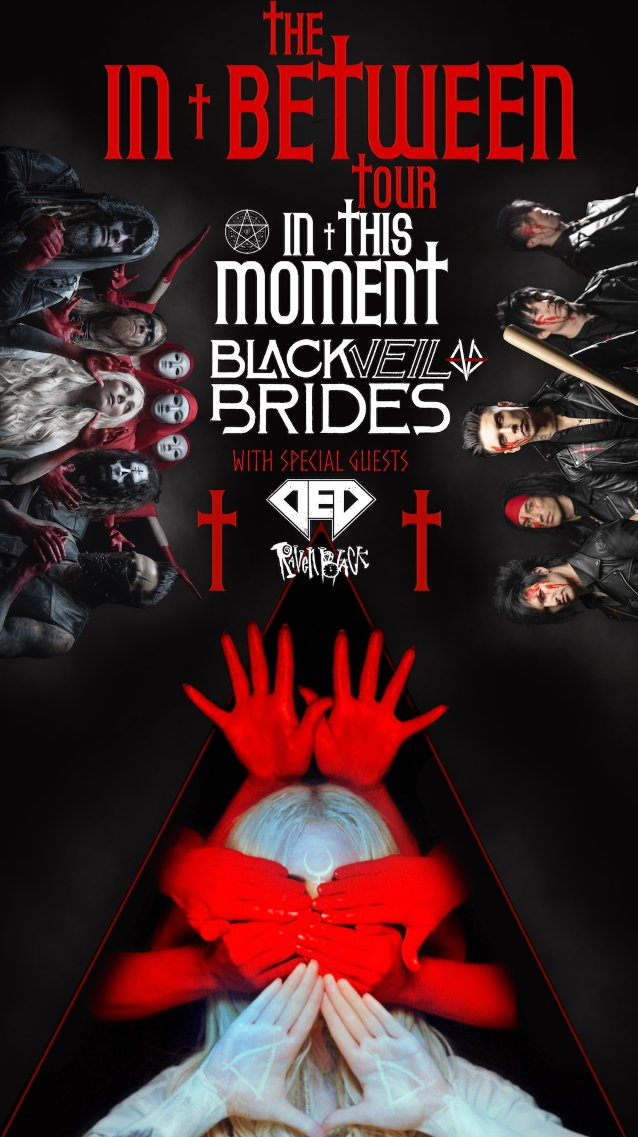 IN THIS MOMENT And BLACK VEIL BRIDES Shows Postponed After 'Several Members' Test Positive For COVID-19