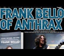 ANTHRAX's FRANK BELLO 'Loves' His Friend DAVID ELLEFSON: 'He's A Good Dude'
